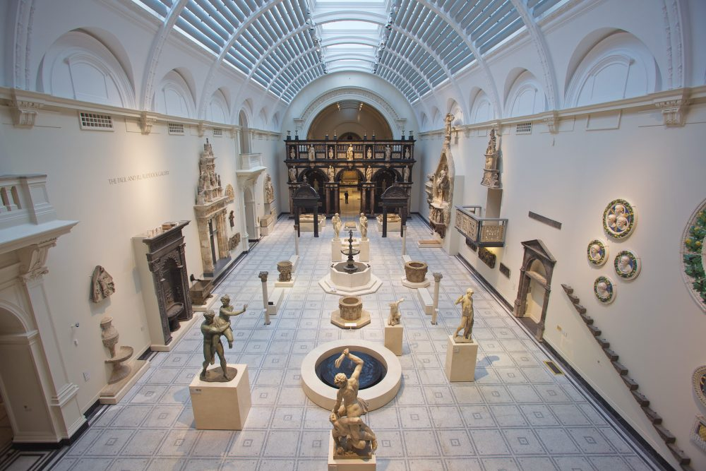 medieval and renaissance galleries v a holmes wood